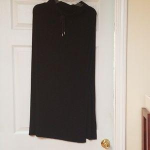 Black maxi skirt xs petite